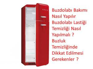 Buzdolabı bakım nasıl yapılır ? Buzdolabı temizliği nasıl yapılır ?