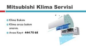 Mitsubishi klima arıza bakım onarım servisi